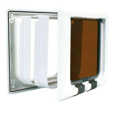 5.75 in. x 6 in. Extra-Large 4-Way Cat Door