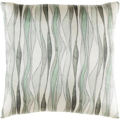 Brydges Mt Graphic Polyester 20 in. x 20 in. Throw Pillow