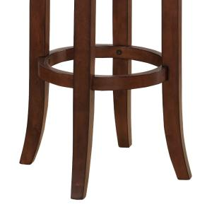 Phenomenal American Woodcrafters Conrad 26 In Cherry Backless Swivel Short Links Chair Design For Home Short Linksinfo