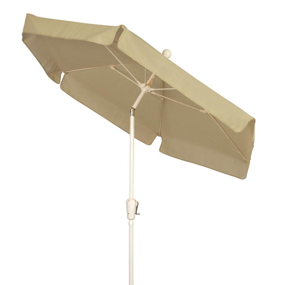 Amazing Fiberbuilt Umbrellas 7.5 Ft. Patio Umbrella In Beige