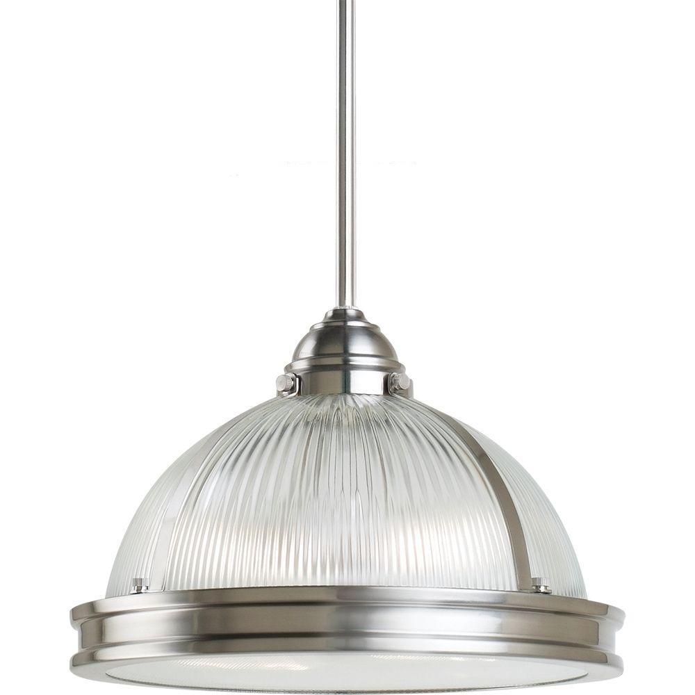 Sea Gull Lighting Pratt Street Prismatic 2-Light Brushed Nickel Pendant was $225.96 now $154.92 (31.0% off)