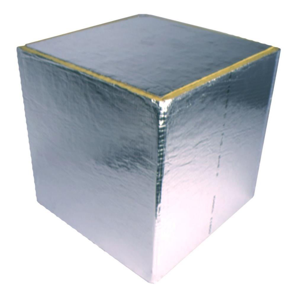 24 in. x 24 in. x 24 in. Duct Board Plenum Kit - R6.0