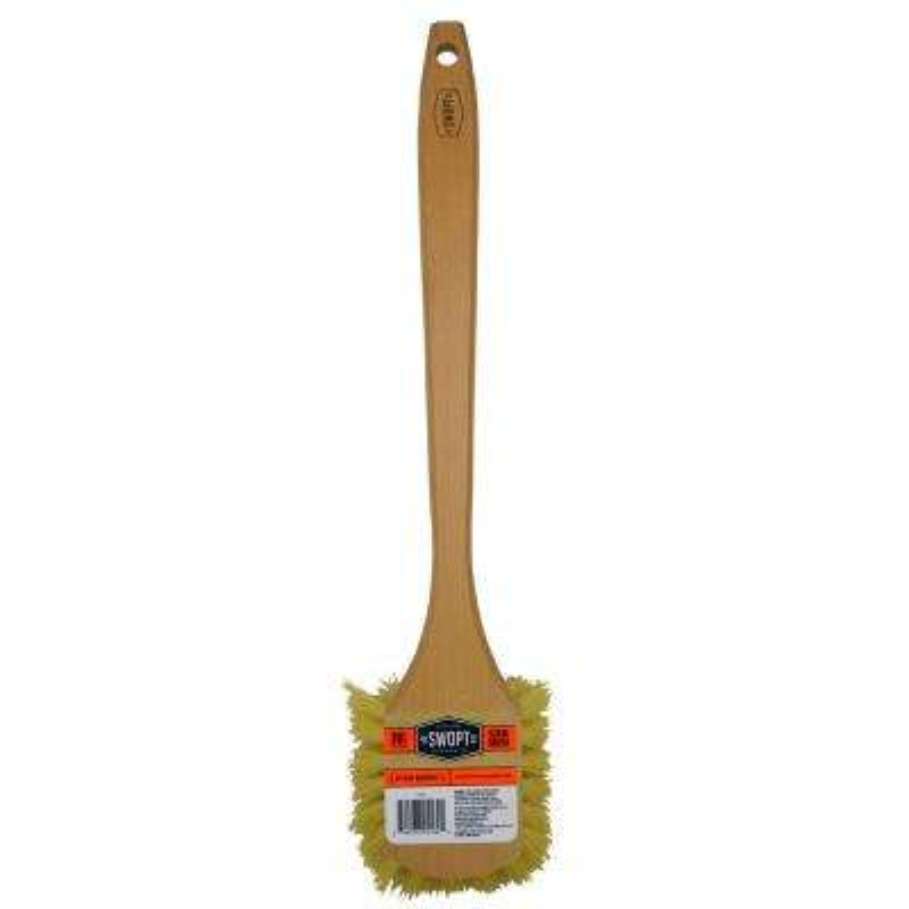 Long Handle Scrub Brush-Stiff Bristles