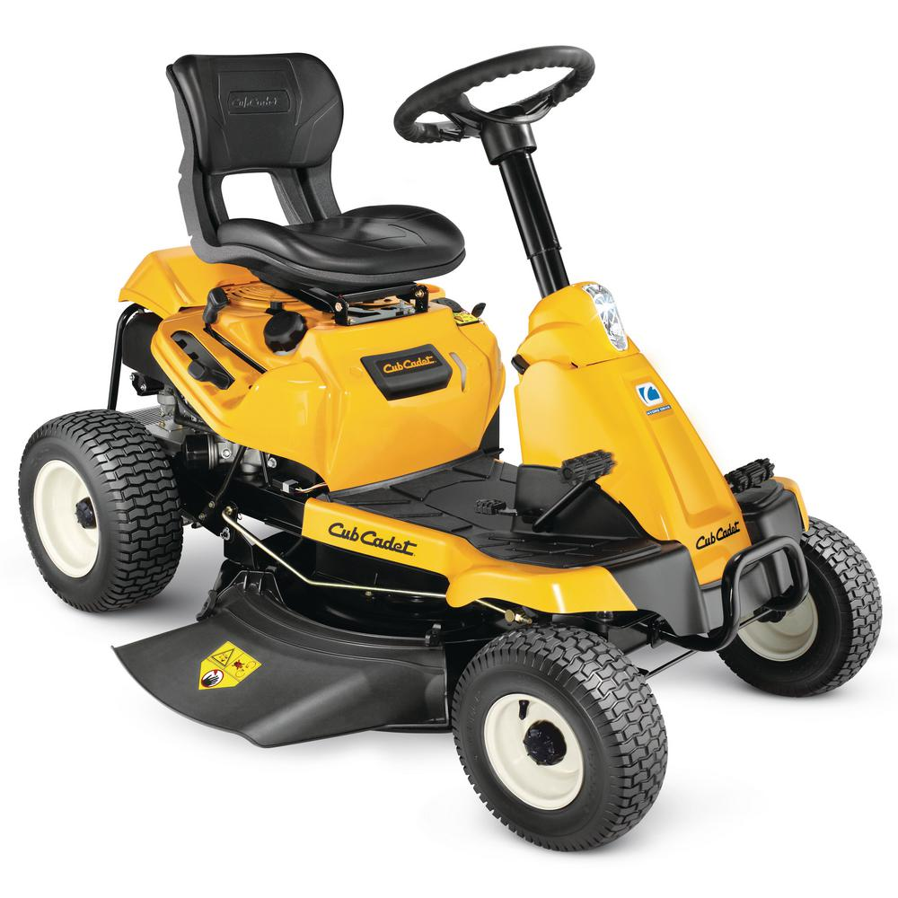 30 in. 382 cc Auto-Choke Engine Hydrostatic Drive Gas Rear Engine Riding Mower with Mulch Kit Included