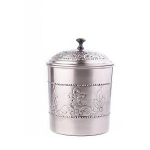 Click here to buy Old Dutch 4 qt. Antique Embossed Victoria Cookie Jar with Fresh Seal Cover by Old Dutch.
