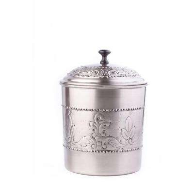 4 qt. Antique Embossed Victoria Cookie Jar with Fresh Seal Cover