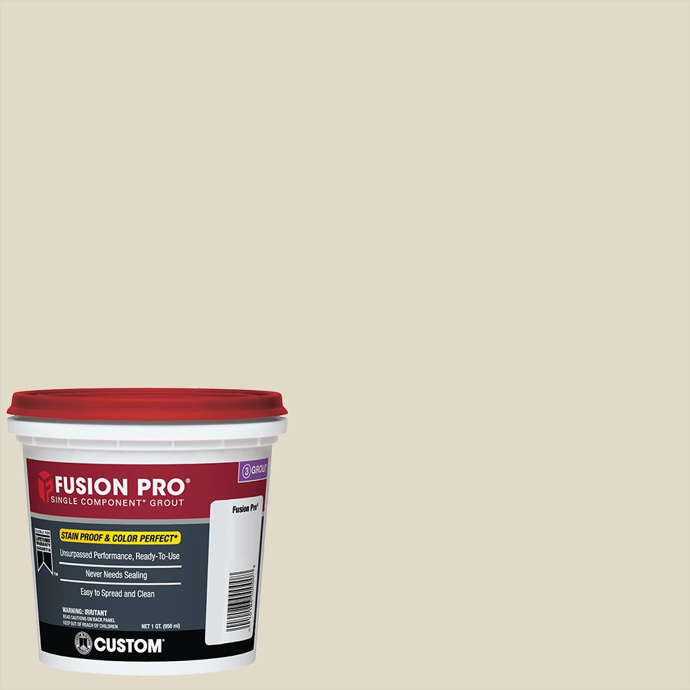 Custom Building Products Fusion Pro #333 Alabaster 1 Qt. Single Component Grout