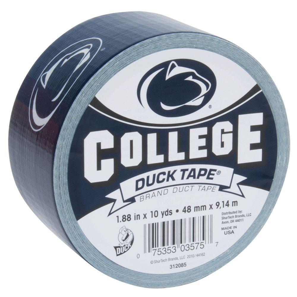 College 1-7/8 in. x 30 ft. Penn State Duct Tape (6-Pack)