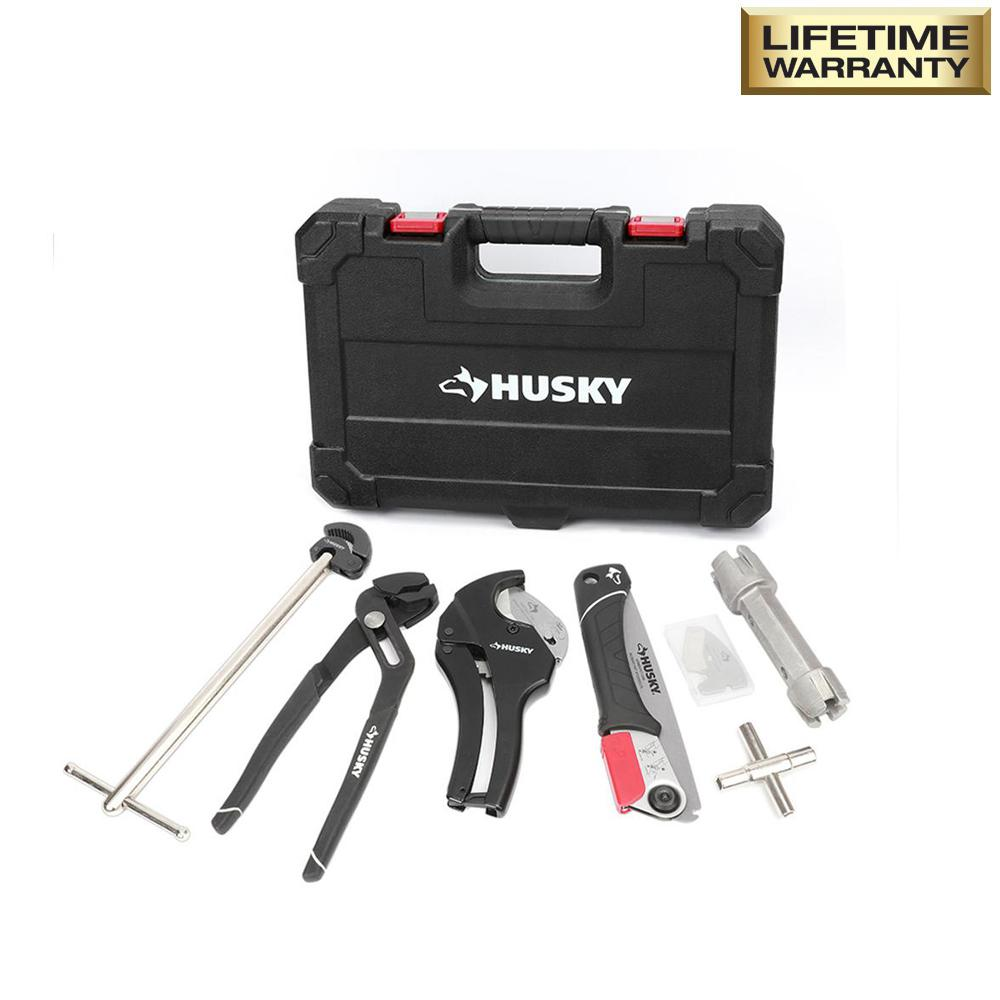 7-Piece Plumbers Tool Set with Carrying Case