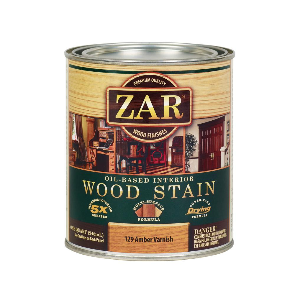 ZAR 129 1 qt. Amber Varnish Wood Interior Stain (2-Pack)