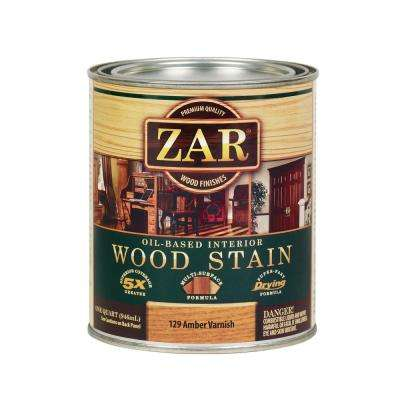 129 1 qt. Amber Varnish Wood Interior Stain (2-Pack)