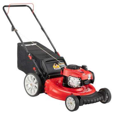 21 in. 140 cc 550ex Series Briggs & Stratton Gas Walk Behind Push Mower with 2-in-1 Cutting TriAction Cutting System