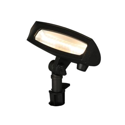 Low Voltage Black LED Landscape Flood Light with Adjustable Light Color