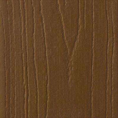 Pro 5/8 in. x 11-1/4 in. x 12 ft. Brazilian Chestnut Capped Fascia Composite Decking Board (4-Pack)