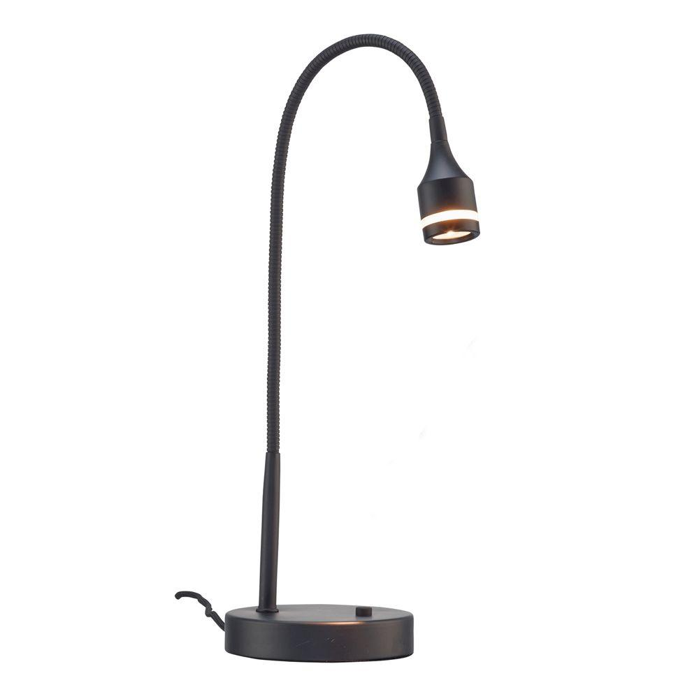 Prospect 18 in. Black LED Desk Lamp