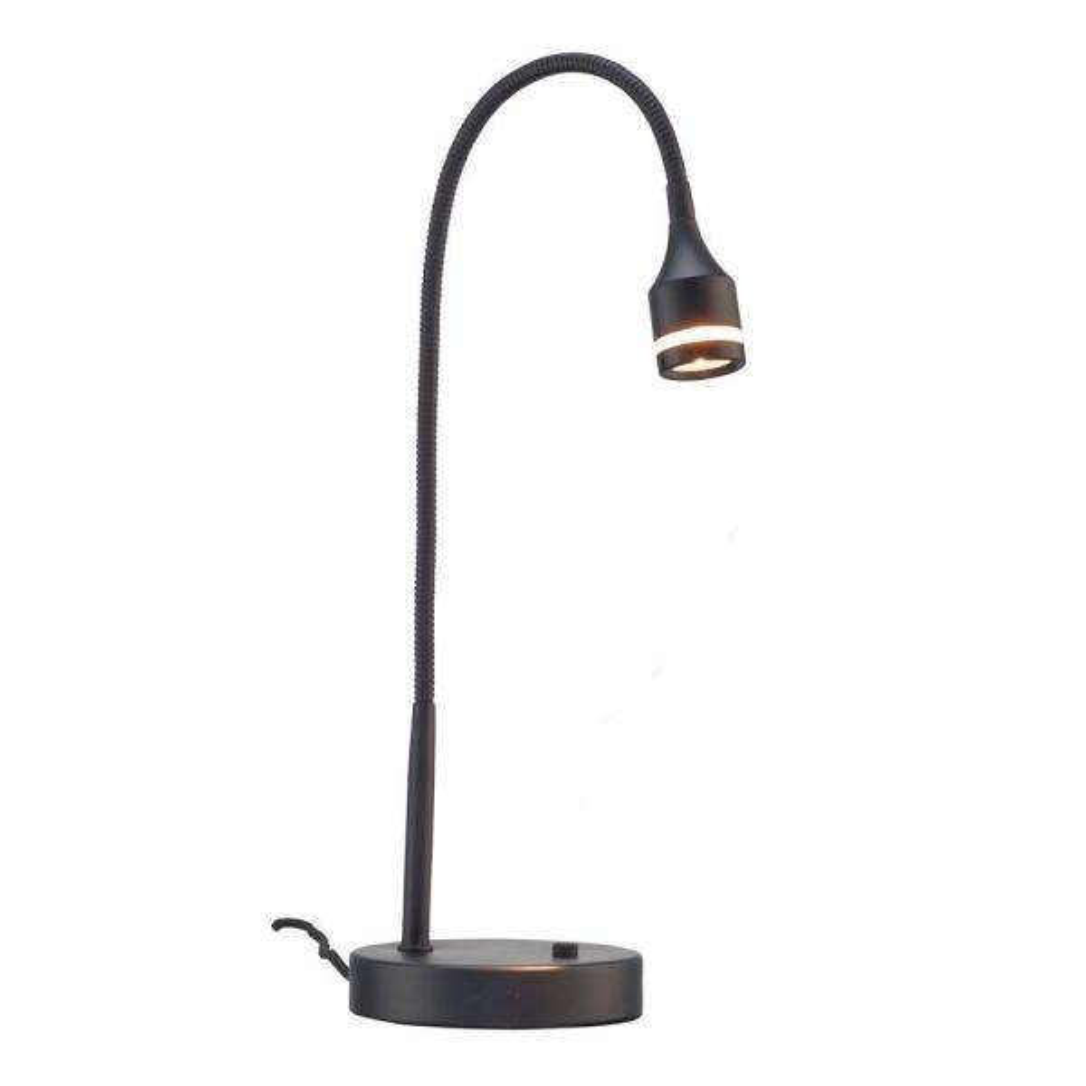 Prospect 18 in. Black LED Desk Lamp