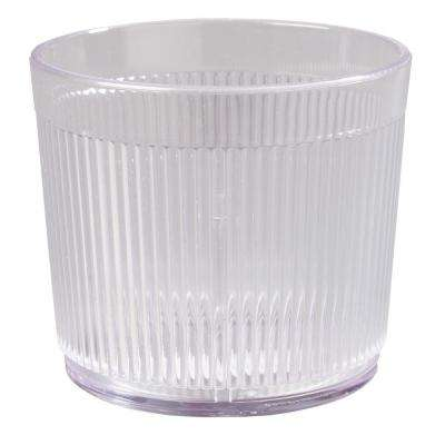 9 oz. SAN Plastic Tumbler in Clear (Case of 48)