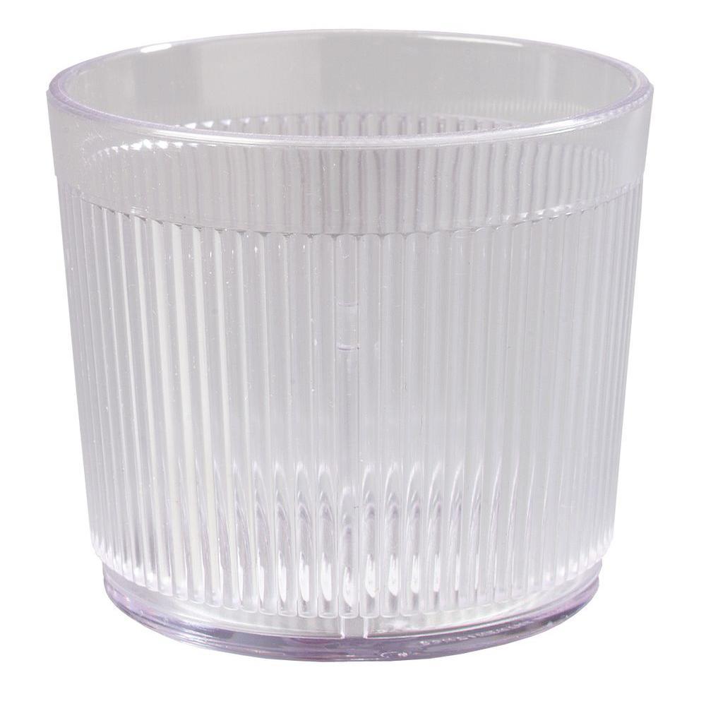 9 oz. SAN Plastic Tumbler in Clear (Case of 48)