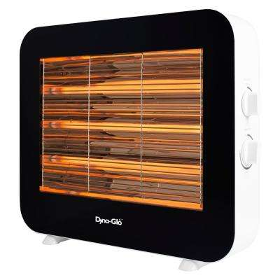 1500-Watt Infrared Electric Quartz Radiant Heater in White