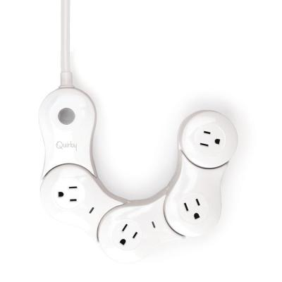 Pivot Power Smart Flexible App Enabled 4-Outlet Surge Protector with 4 ft. Cord