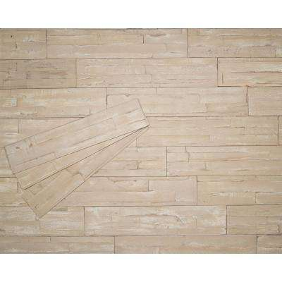 3/8 in. x 4-7/8 in. x 23-5/8 in. Safari Prefinished Wood Peel and Press Wall Panel