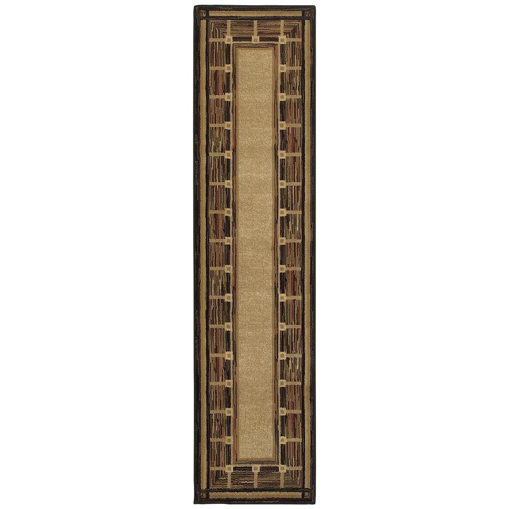 Riverway Brown 1 ft. 10 in. x 7 ft. 6 in.