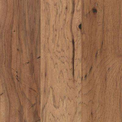 Take Home Sample - Steadman Harvest Hickory Engineered Scraped Hardwood Flooring - 5 in. x 7 in.