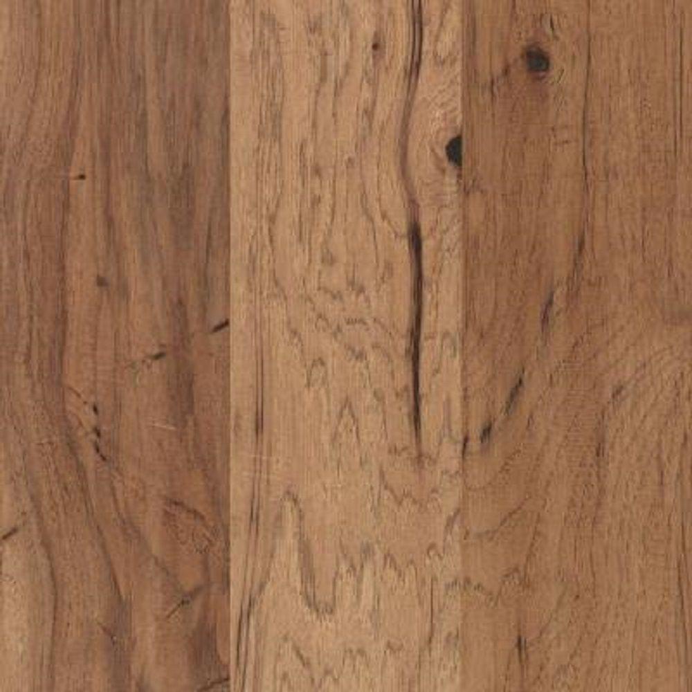 Mohawk Take Home Sample - Steadman Harvest Hickory Engineered Scraped Hardwood Flooring - 5 in. x 7 in.