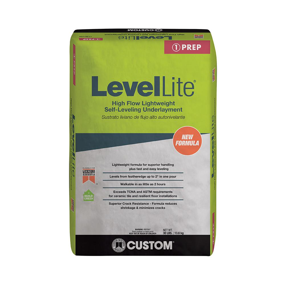 Custom Building Products LevelLite 30 lb  Self-Leveling Underlayment