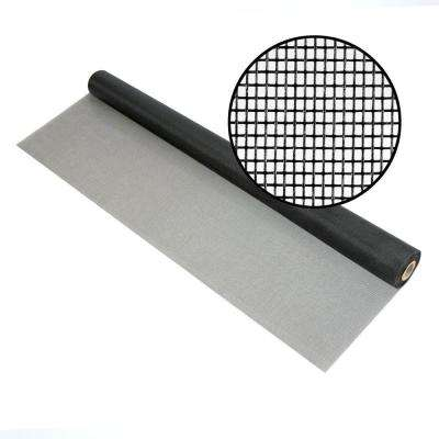 48 in. x 100 ft. Charcoal Fiberglass Screen 18 x 14 Mesh