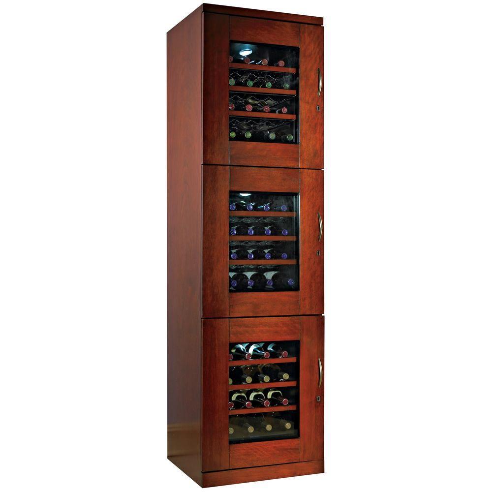 Wine Enthusiast Trilogy 48-Bottle Wine Cellar