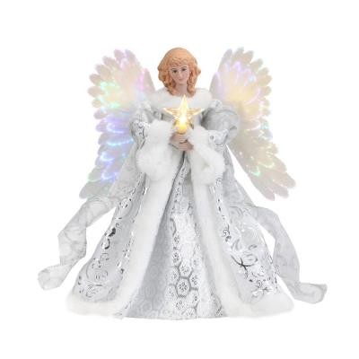 Celestial Angel Animated Tree Topper