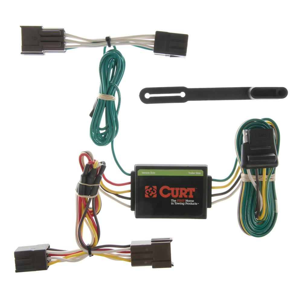 CURT Custom Wiring Harness (4-Way Flat Output) on national electrical code, earthing system, junction box, electrical engineering, custom axles, alternating current, circuit breaker, custom controls, custom engine, distribution board, custom furniture, custom interior, custom hitches, custom siding, custom chassis, knob-and-tube wiring, custom pipes, electric power distribution, electrical conduit, custom falcon, custom lights, power cable, extension cord, wiring diagram, ground and neutral, electric motor, custom doors, custom fans, three-phase electric power, power cord,