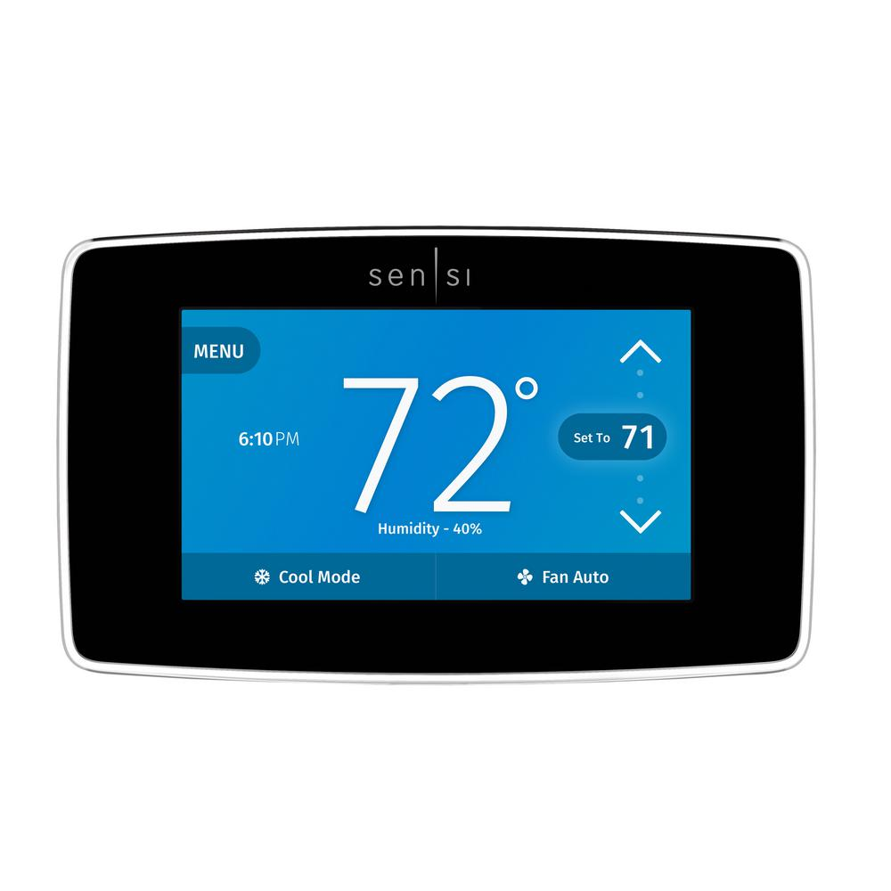 Emerson Sensi Touch Wi-Fi Thermostat with Touchscreen Color Display