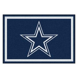 80948268 FANMATS Dallas Cowboys 5 ft. x 8 ft. Area Rug-6269 - The Home Depot