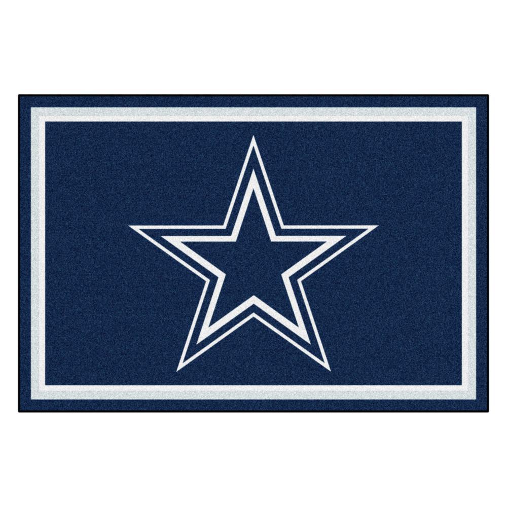 Dallas Cowboys 5 ft. x 8 ft. Area Rug