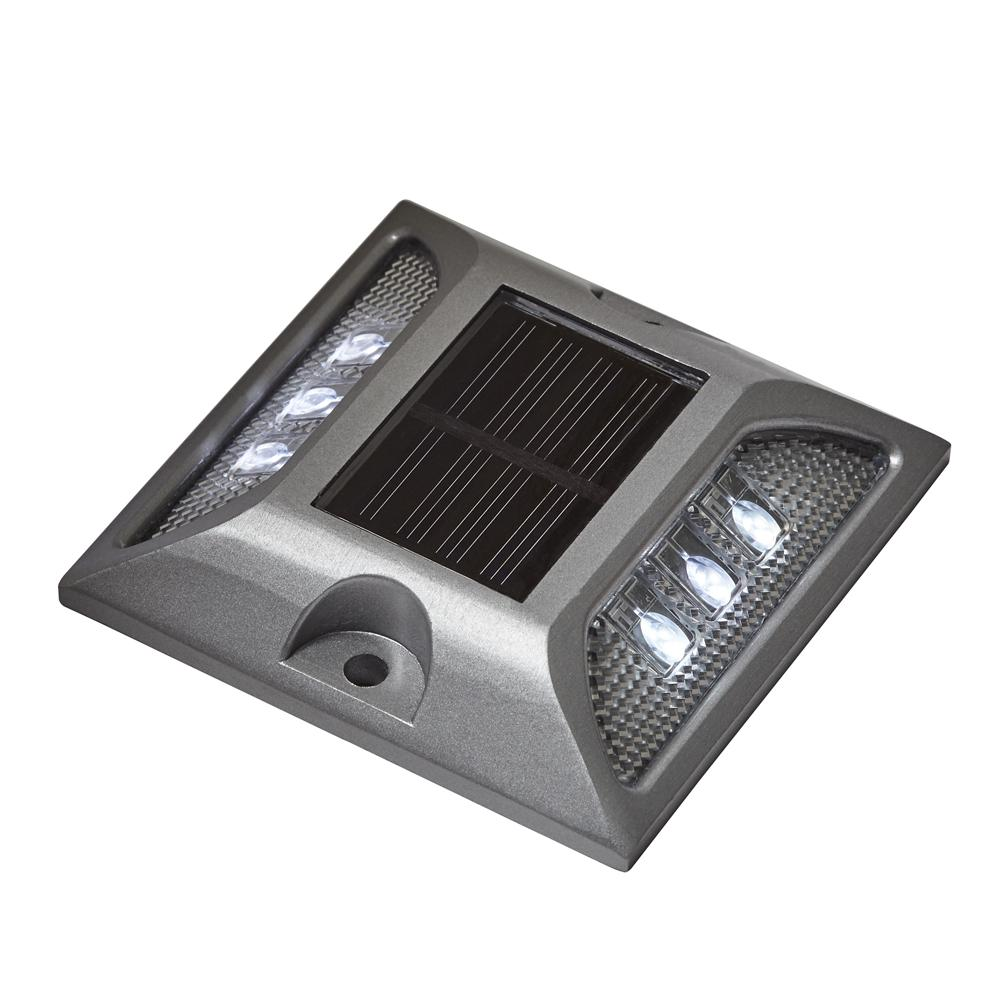 Tommy Docks Solar Powered Silver Heavy Duty Integrated LED Dock Deck and Pathway Light with  sc 1 st  Home Depot & Tommy Docks Solar Powered Silver Heavy Duty Integrated LED Dock ...