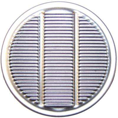 2 in. Aluminum Round Louvered Vulcan Vent