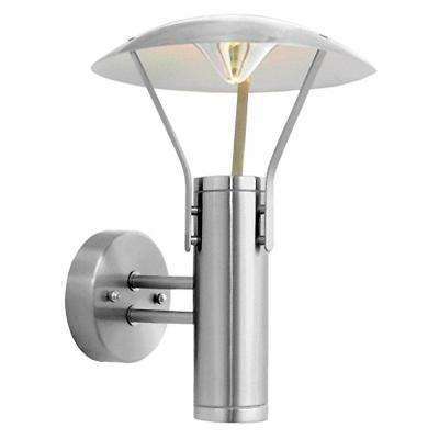 Roofus 2-Light Stainless Steel Outdoor Wall-Mount Light Fixture