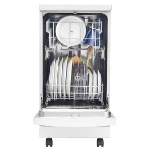 +8. Frigidaire 18 In. Portable Dishwasher In White With Stainless ...