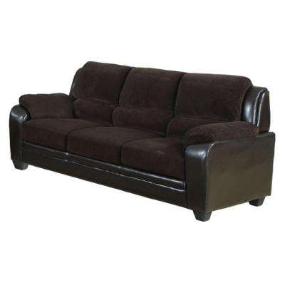 Barton Chocolate Brown Corduroy Sofa