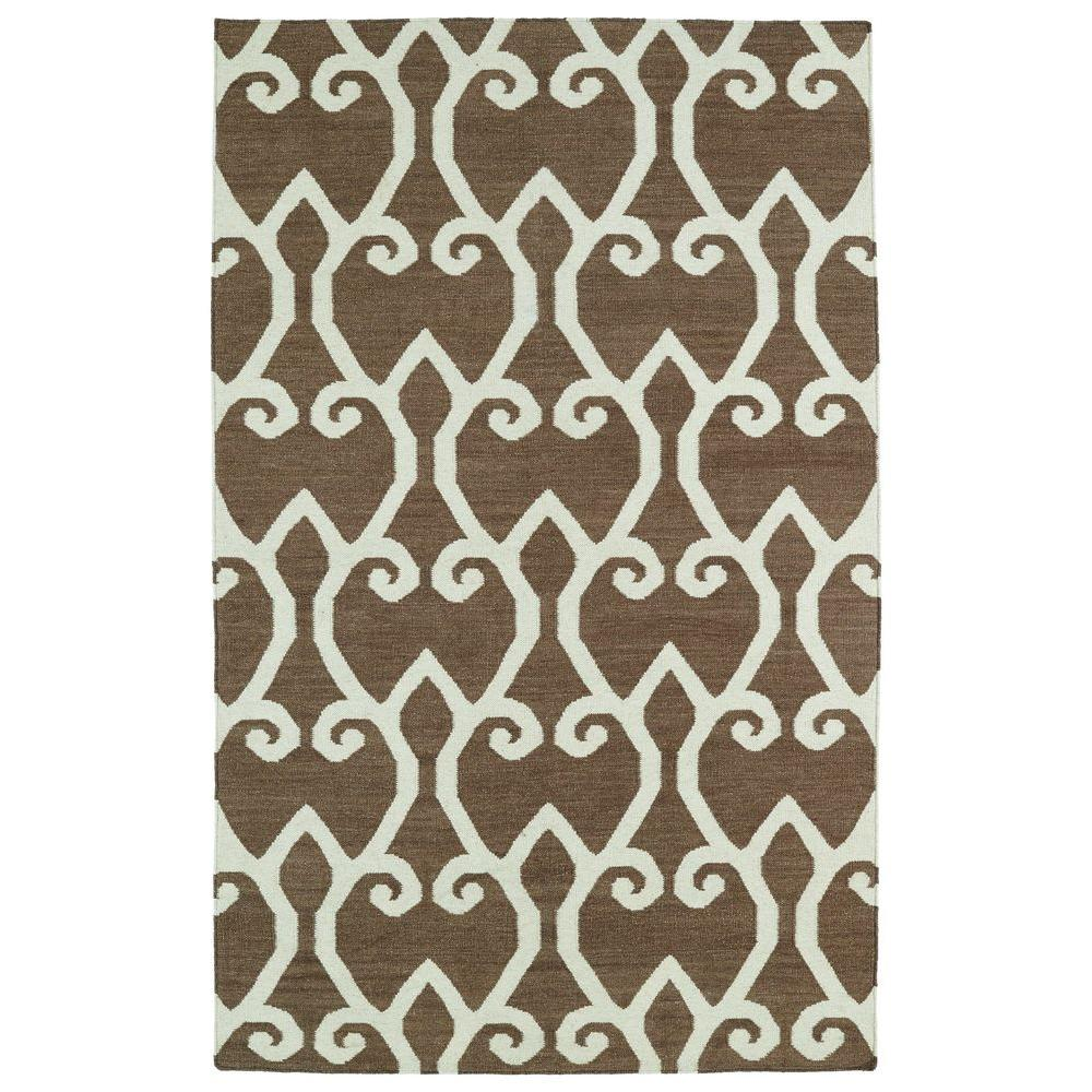 Glam Brown 9 ft. x 12 ft. Area Rug