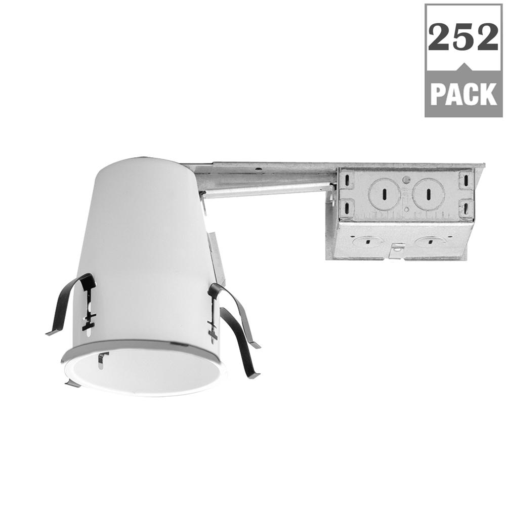 Halo H99 4 in. Steel Recessed Lighting Housing for Remodel Ceiling ...