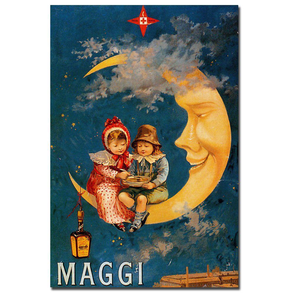 Trademark Fine Art 24 in. x 32 in. Maggi Canvas Art