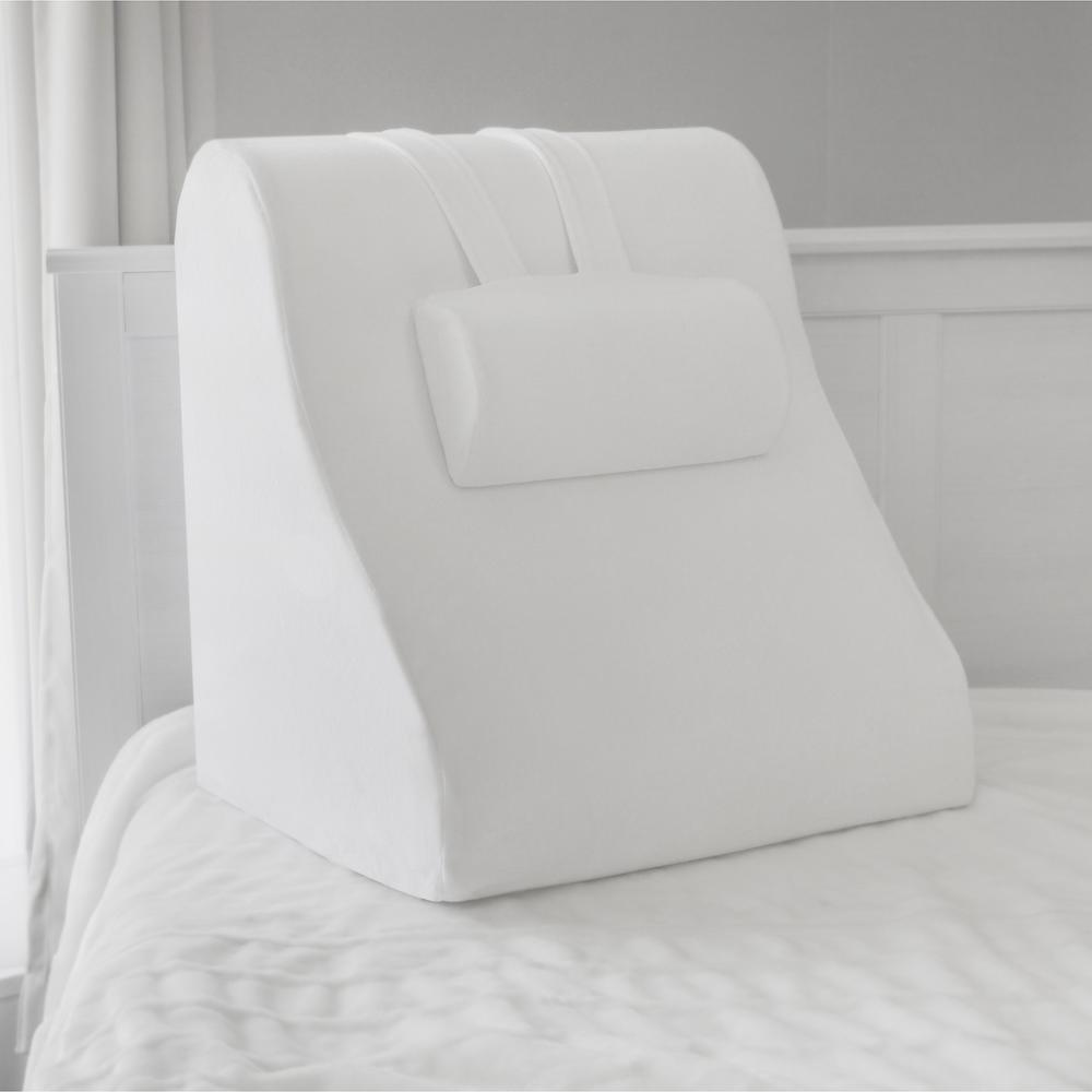 BioPEDIC Memory Foam Bed Wedge With Adjustable Memory Foam Jumbo Pillow