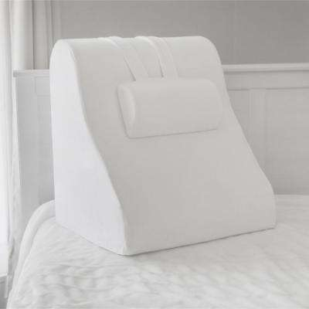 Memory Foam Bed Wedge with Adjustable Memory Foam Jumbo Pillow
