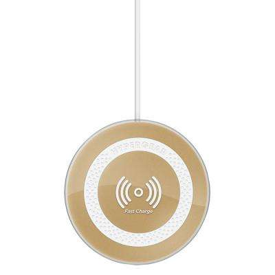 Wireless Charge Pad Pro in Gold