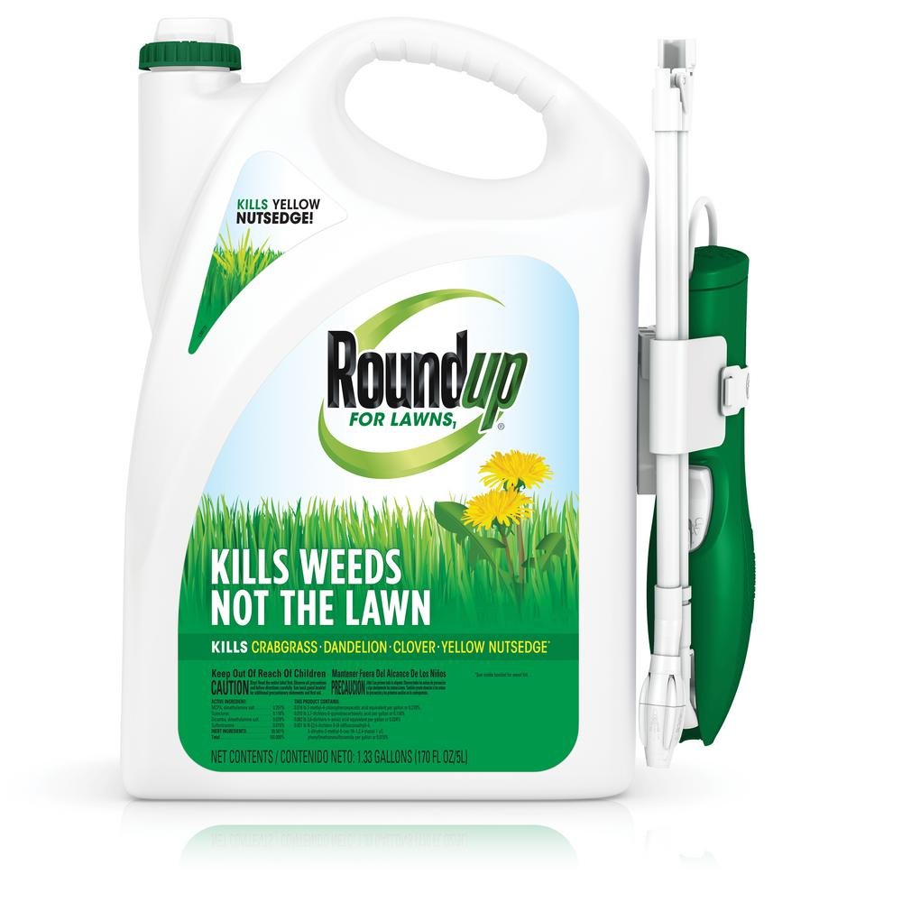 roundup weed killer lawns lawn northern ready rtu lowes gallon wand spray gal liquid sprayers ace hardware depot sprays vegetation