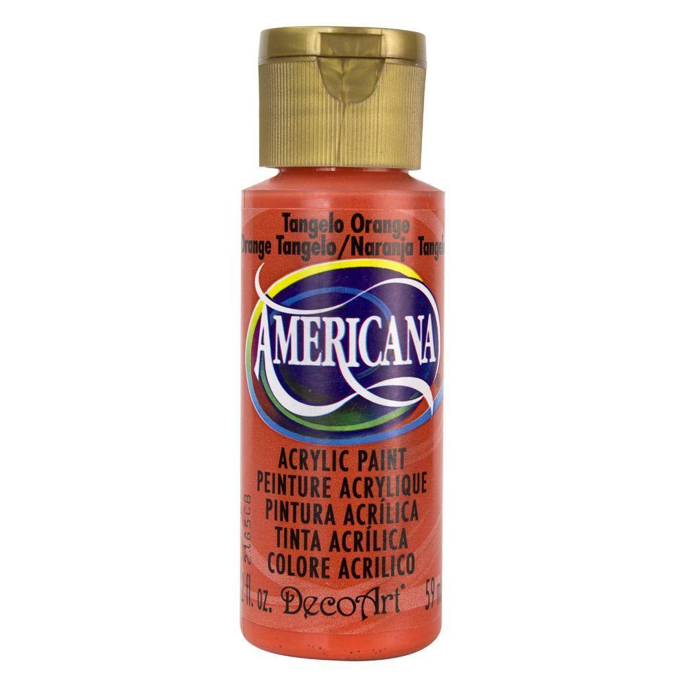 Americana 2 oz. Tangelo Orange Acrylic Paint