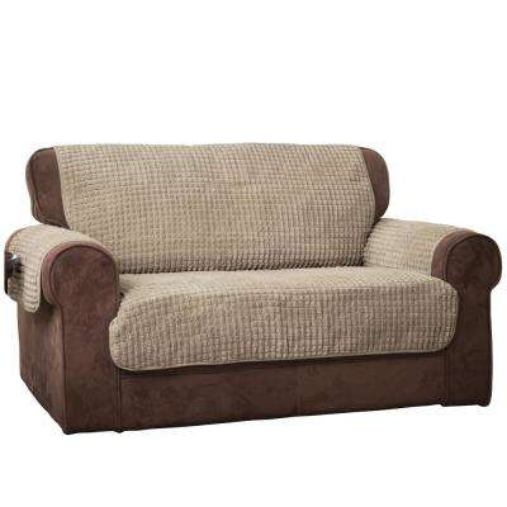 Natural Puff Sofa Furniture Protector